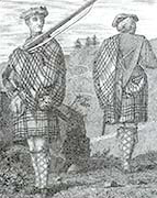 Highland soldiers ca 1715