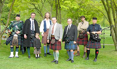 kilt group photo