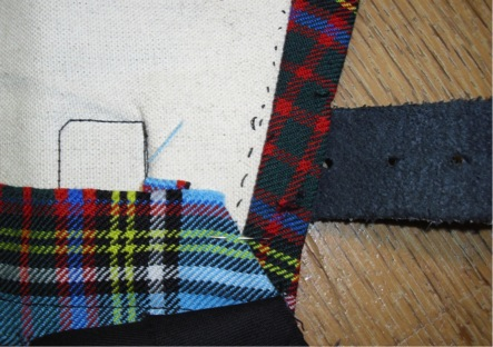kilt with pin